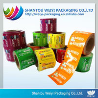 Laminating Customized Size Cosmetic Sachet Packaging Film