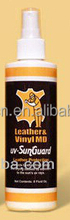 synthetical PVC leather cleaner spray, food grade accessories