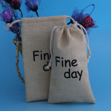 Wholesale New Products Drawstring Jute Bag For Cashew Nuts