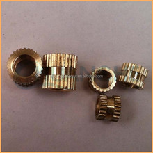 Factory sales high quality knurled nuts with collar