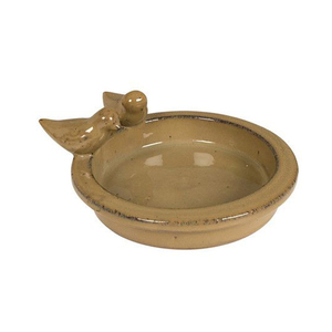 Galzed l terracotta bird bath for sale