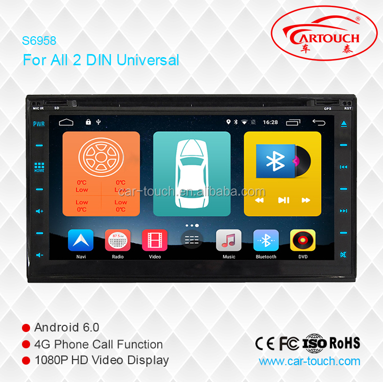 android car dvd player gps navigation for 2 din universal with bluethooth, 3g wifi,DVR IPOD TV tuner