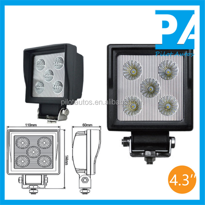 "15W 4.3"" inch Led Work Working Light For ATV SUV off road 4x4 heavy equipments Truck Jeep Motorcycle Boat 0315"