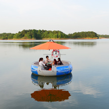 Yuhao Leisure plastic round party boat for bbq