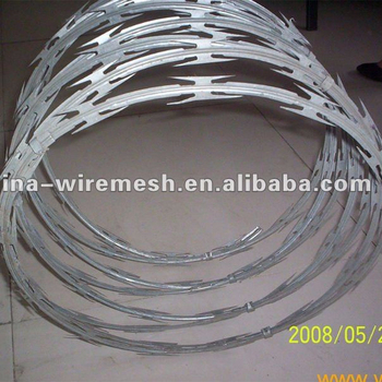 Supply Razor Barbed Wire BTO and galvanized barbed wire (Standed ISO9001)