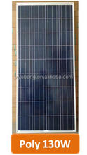 130W 12v solar panel with MC4 Connector photovoltaic solar energy panel pv panel charge for 12v battery