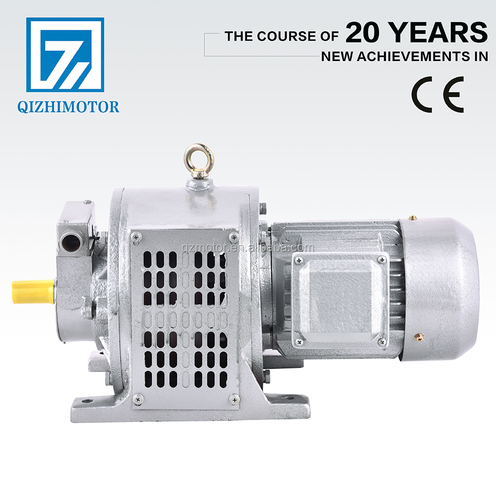 15kw YCT 225-4B electromagnetic speed adjustable clutch motor