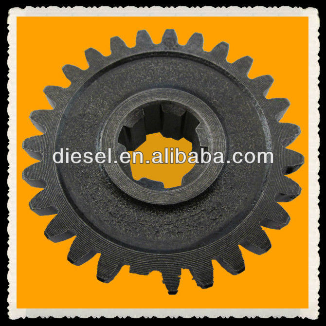 diesel engine spare parts, Chinese Single Cylinder Walking Tractor Parts----------Gear for DONGFENG SIFANG engine