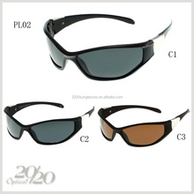 2015 sports style Cheap goods from china polarized plastic Sunglasses with 3 color