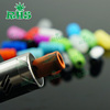 E cig Drip Tips Newest American Style 510 Ceramic SS Drip Tips Wide Bore Drip Tip for 510 RDA Silicone Material