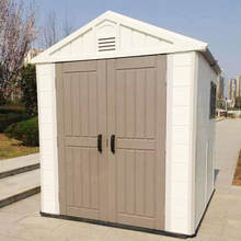 cheap outdoor 6X4 resin tool outdoor storage products small storage plastic garden sheds