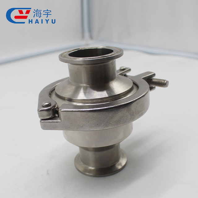 Clamp Weld Thread Stainless Steel Sanitary Check Valve for Food Grade