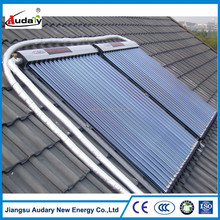 CE approved antifreeze heat pipe solar collector