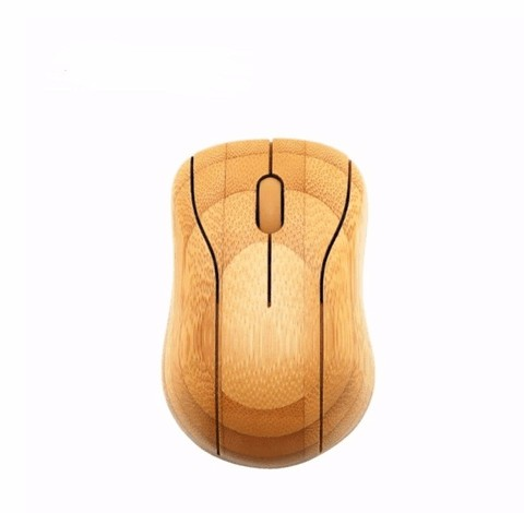 bamboo wireless CE ROHS high-end computer mouse