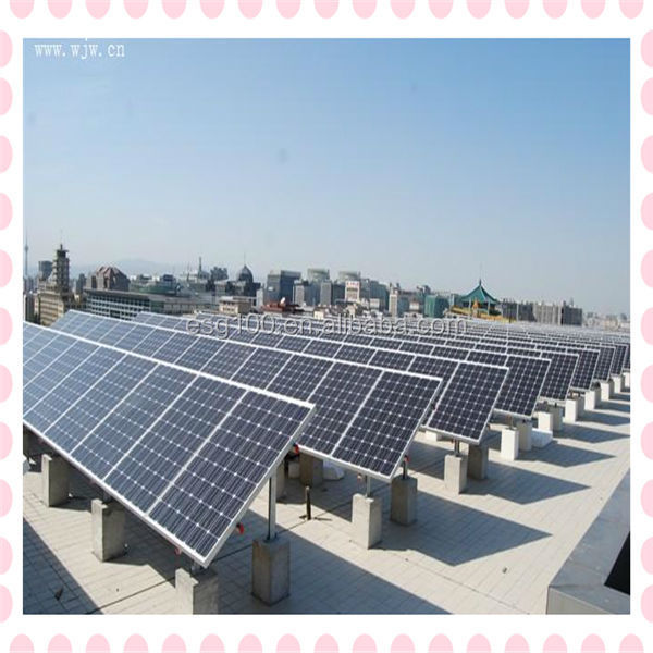 cheap price 150W transparent PV solar panel