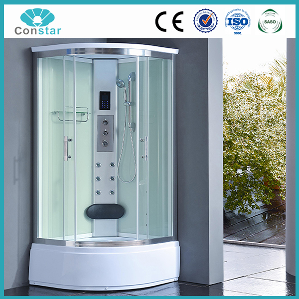 Aluminium Frame Material and Steam Rooms Type Spa shower bath toilet sauna hot steam shower cabin