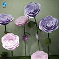High quality environmentally friendly artificial flowers with stem