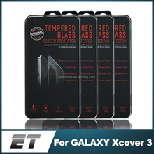 Manufacturer Wholesale 2015 Hot Products 0.33mm 9H 2.5D Tempered Glass Screen Protector For Samsung GALAXY Xcover 3