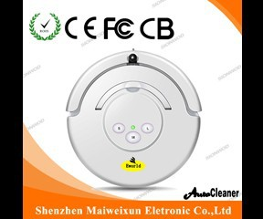 2015 new robot vacuum cleaner with 24V 2000mah battery for mother and your wife