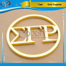 Custom Gold Cutout Logo Metal Tag for Handbag