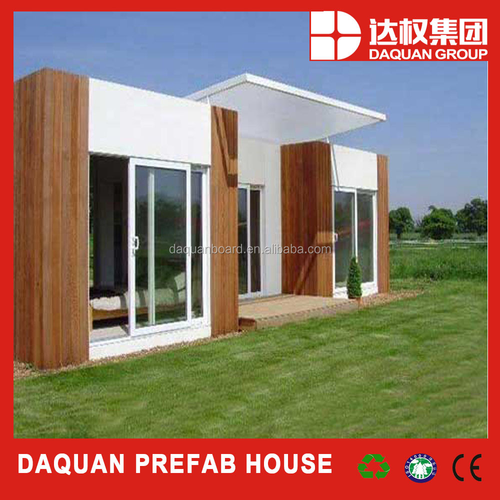 China manufacturer cheap modern home designs light steel villa made by eps cement sandwich panel as walls
