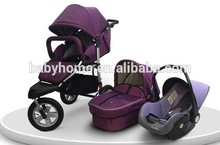 Baby stroller with car seat fashion stroller baby carrier