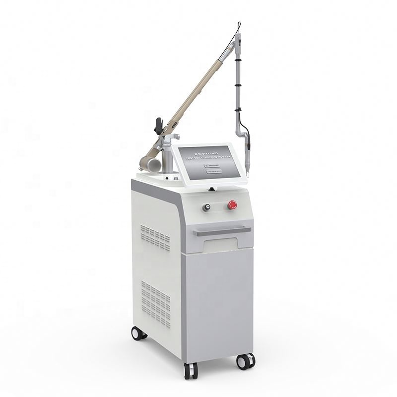 Newest <strong>q</strong> switched nd yag laser tattoo removal beauty laser apparatus medical