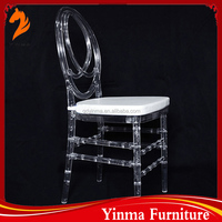 Modern wedding used clear resin chiavari chair for sale