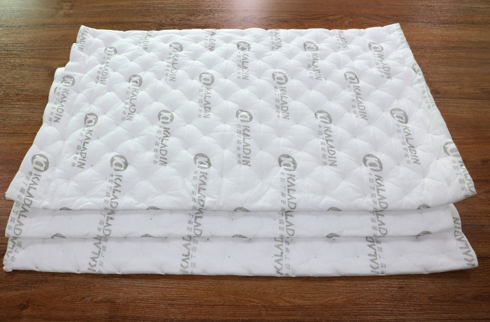 Finished edge white car soundproofing material For Car Factories