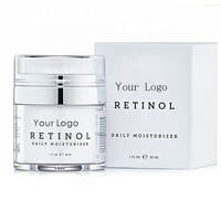 Private Label Organic Facial Cream Anti Aging Anti Wrinkle Deep Moisturizing Hyaluronic Acid Miracle Retinol Face Cream