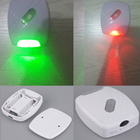 LED Sensor Motion Activated Toilet Light Bathroom Bowl Flush Toilet Seat Lamp Battery-Operated Safe Night Light for emergency