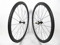 Low porfile 38mm clincher carbon road bicycle wheels 20.5mm Bitex hub from Taiwan Sapim cx-ray spokes , lighter and stronger !!!
