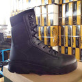 law enforcement rubber outsole combat construction army boots for soliders