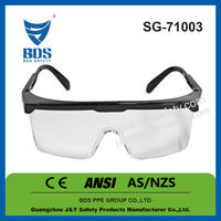 Z87 adjustable leg welding protection safety glasses