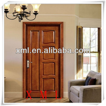 Hand carved wooden single door design made in china buy for Modern wooden main single door design