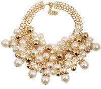 Big oversized high end wholesale fashion jewelry necklace N3703