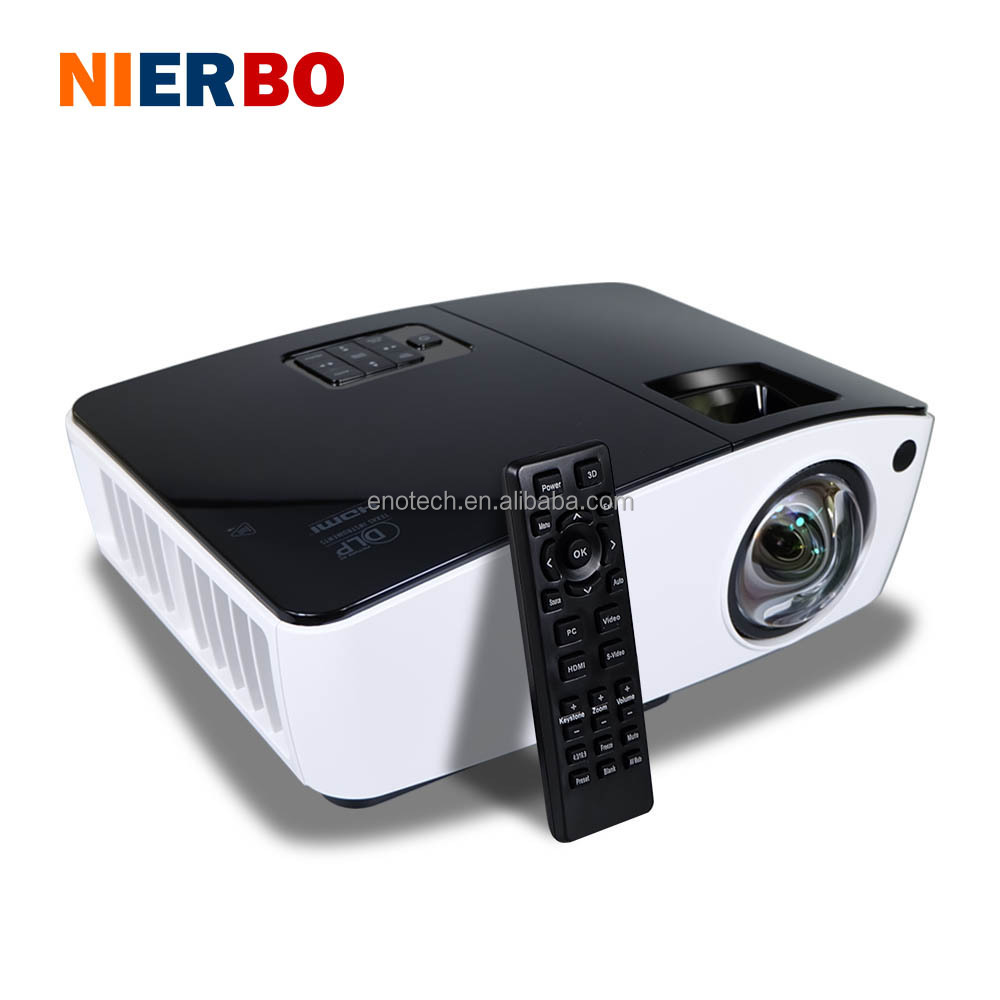 UT300 8000 lumens Short Throw Projectors 3D for Daytime Presentation Outdoor 260W blub 3D Full HD 300 inches Giant Screen Blue-r