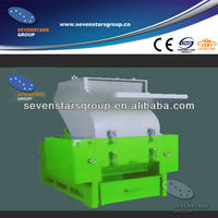 pp pe film aluminum foil crushing machine/waste plastic film crusher