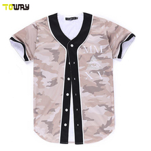 full dye sublimation cheap softball jerseys