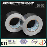 For electric wire! 22um cable White coated release paper SIS-22 Synthetic Rubber Aluminum Foil Tape