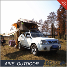Off road canvas car roop top tent camping outdoor 4wd rooftop pop up camper