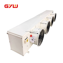 Fan air cooler for cold storage