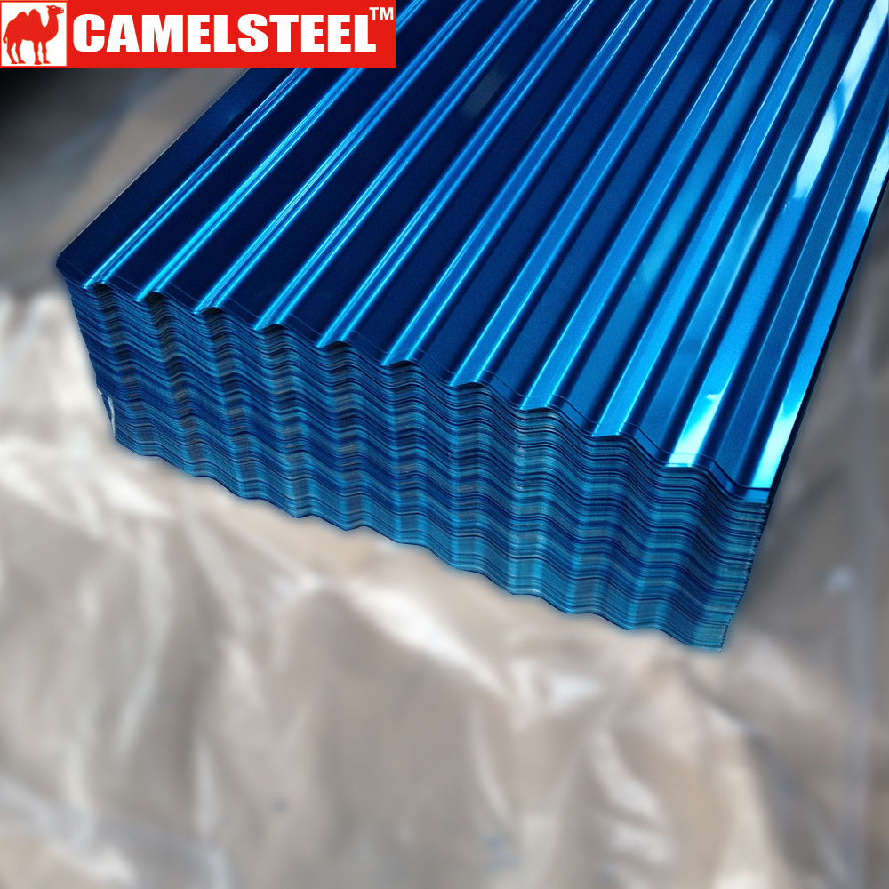 Professional PPGI Corrugated metal roof tile/Colorful zinc coated steel sheets