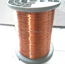 0.32MM Copper Clad Aluminum Enameled Wire enameled rectangular copper wire