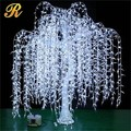 Artificial white led weeping willow tree for wedding decoration