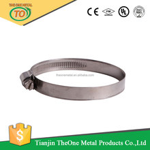 High Quality German Style Stainless Steel Pipe Clamps Hydraulic Hose Clamp Manufacturer
