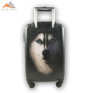 20 24 28 Carry On ABS PC Printed Trolley Case Made In China