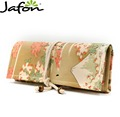 Korean Floral Fashion Bags cosmetic Makeup Brushes Roll Bag Pouch