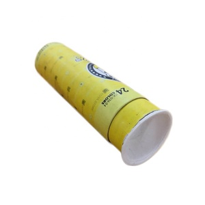 Disposable Pulp Molded Paper Lid for Cardboard Tube Box use