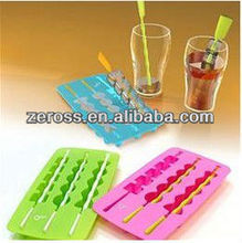 Silicone Ice Cube molds with different design